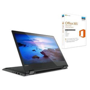 ORDINATEUR 2 EN 1 LENOVO PC Portable Convertible YOGA 520-14IKBR 14