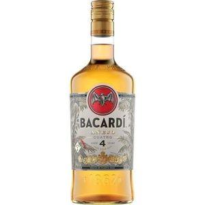 RHUM Bacardi - Anejo 4 - Rhum vieux - 40.0% Vol. - 70 c