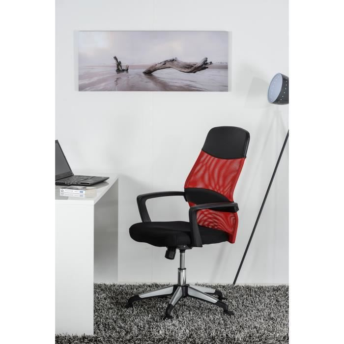 texto fauteuil de bureau rouge achat vente chaise de. Black Bedroom Furniture Sets. Home Design Ideas