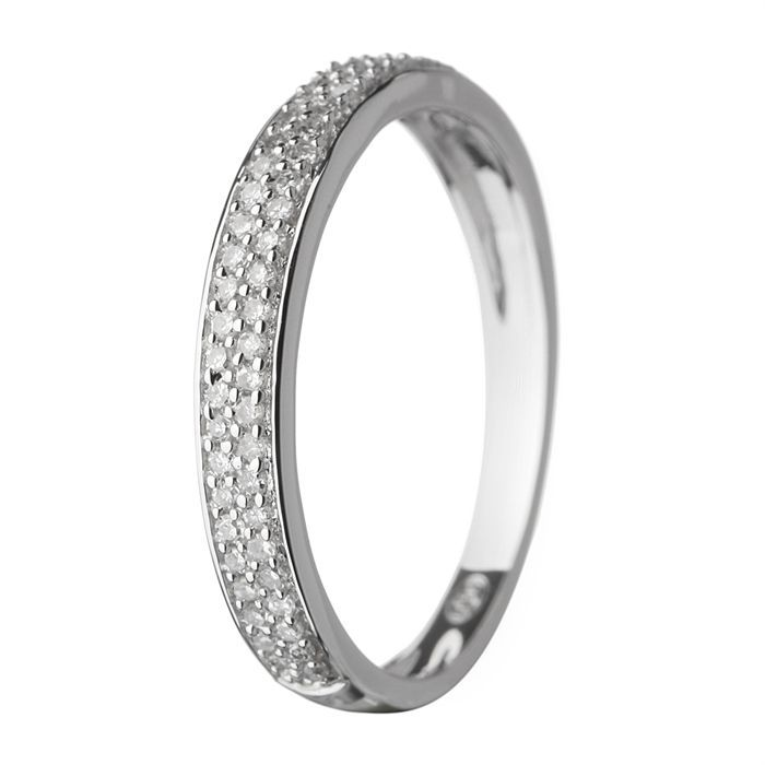 / Vente alliance - solitaire LE DIAMANTAIRE Alliance Femme Or blanc ...
