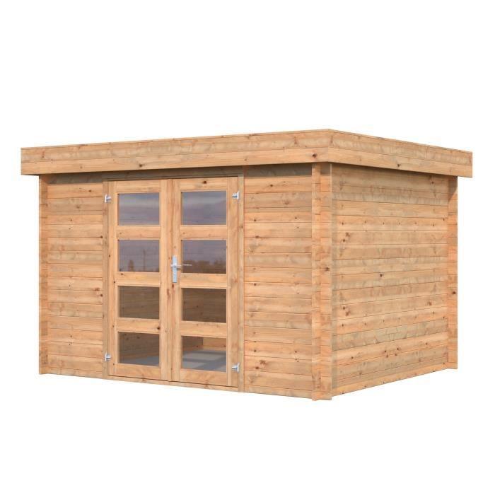 Abris de jardin en bois traite
