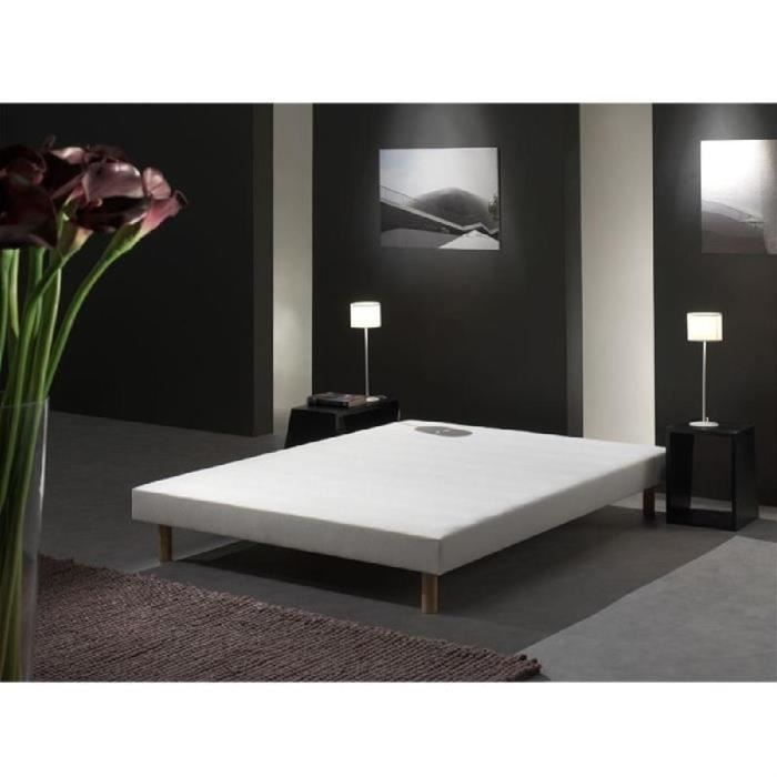 creasom ensemble matelas sommier bio proactif 140x190 cm ressorts ferme 600 ressorts. Black Bedroom Furniture Sets. Home Design Ideas