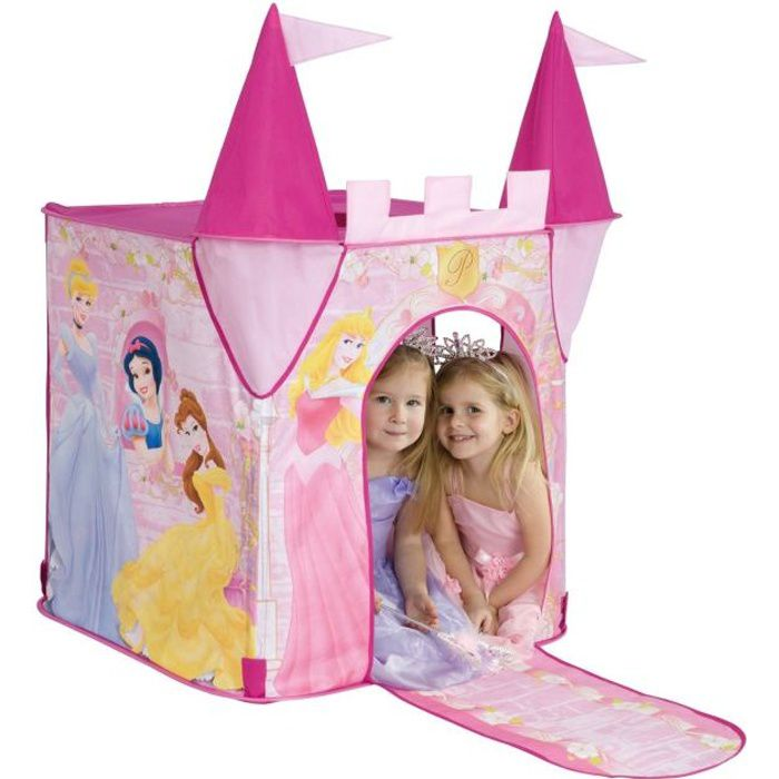 tente enfant chateau disney princess achat vente tente tunnel d 39 activit cdiscount. Black Bedroom Furniture Sets. Home Design Ideas
