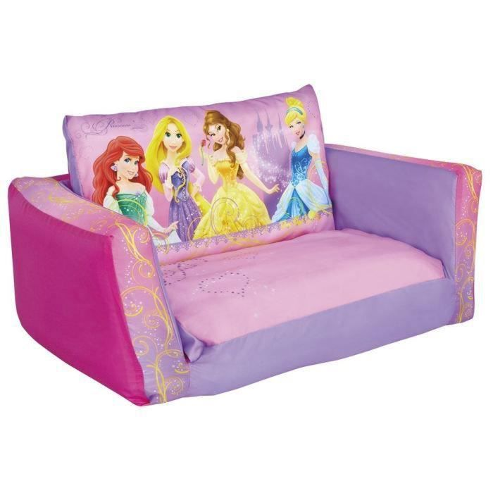 disney princesses canap enfant gonflable et d pliable. Black Bedroom Furniture Sets. Home Design Ideas