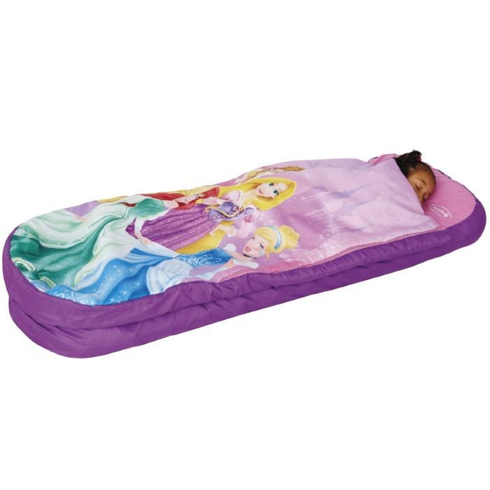 disney princesses lit d 39 appoint sac de couchage enfant avec sac de transport readybed achat. Black Bedroom Furniture Sets. Home Design Ideas