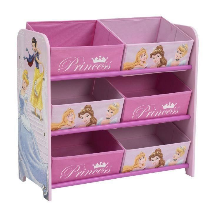 worlds apart disney princesses meuble de rangement enfant 6 paniers achat vente commode de. Black Bedroom Furniture Sets. Home Design Ideas