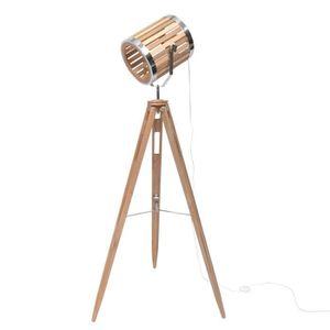 LAMPADAIRE SPOT Lampadaire cinéma trépied - 65 x 55 x H151 cm