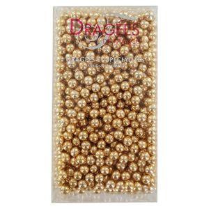 DÉCORATION PÂTISSERIE DRAGEES DE FRANCE Perles de sucre - Dorées N° 6 -