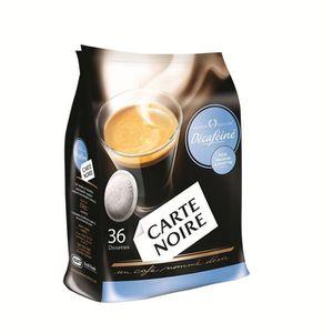 CAFÉ CARTE NOIRE Décaféiné Classic 36 Dosettes 250g