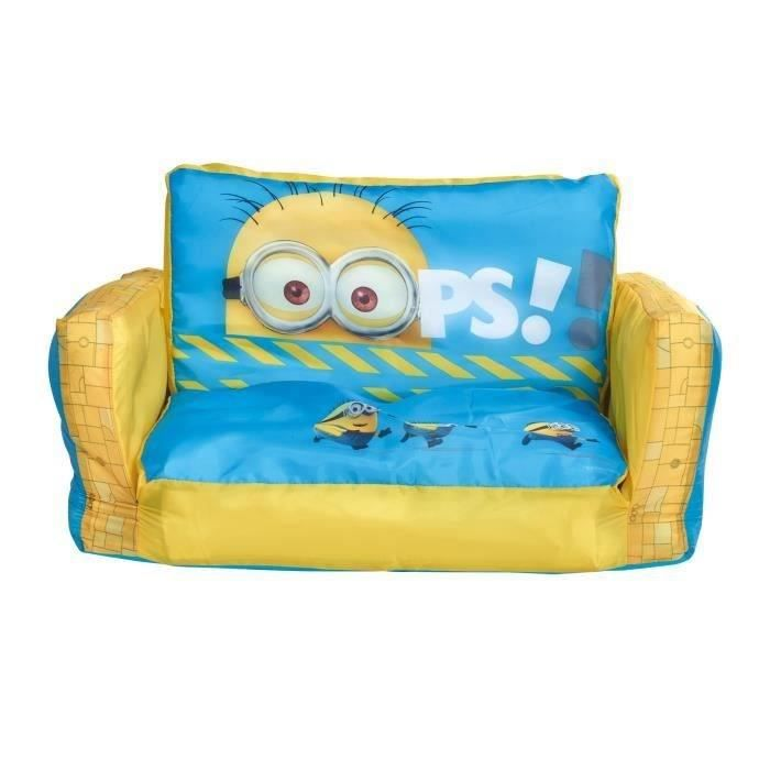 les minions canap enfant gonflable et d pliable achat. Black Bedroom Furniture Sets. Home Design Ideas