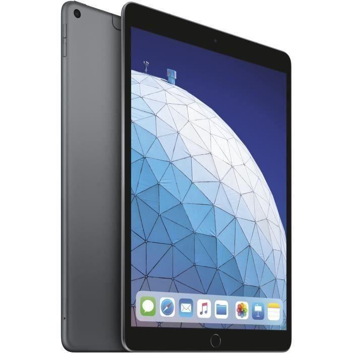 """TABLETTE TACTILE iPad Air - 10,5"""" Rétina 256Go WiFi + Cellular - Gr"""