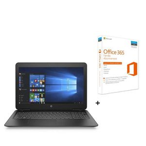 ORDINATEUR PORTABLE HP PC Pavilion HP15bc313nf - 15.6