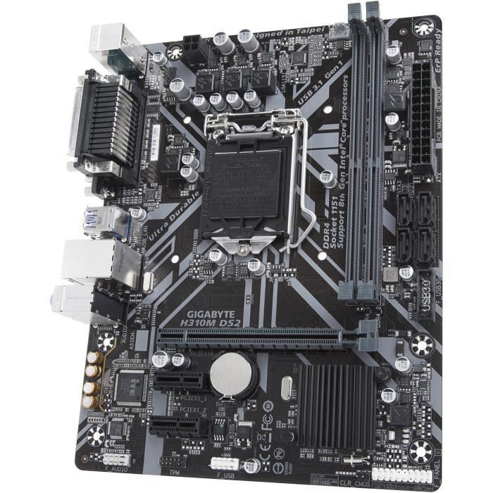 CARTE MÈRE GIGABYTE Carte mère H310M DS2 - Intel
