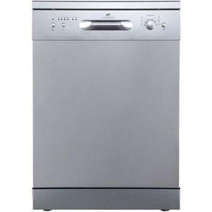 LAVE-VAISSELLE CONTINENTAL EDISON - Lave-vaisselle - Silver - 12
