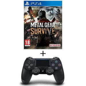 JEU PS4 Pack Metal Gear Survive Jeu PS4 + Manette PS4 Dual