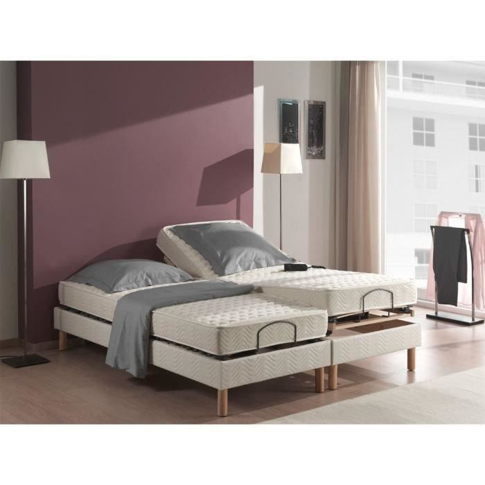 matelas relaxation 2x70x190 100 latex vend e achat vente matelas cdiscount. Black Bedroom Furniture Sets. Home Design Ideas
