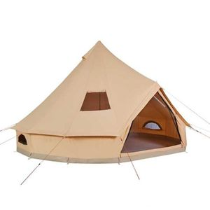 TENTE DE CAMPING TRIGANO Tente Gobi 8 places - Beige