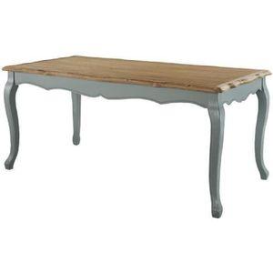TABLE À MANGER SEULE ROMANCE Table à manger de 6 à 8 personnes classiqu