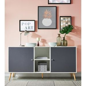 buffet achat vente pas cher soldes d s le 27 juin cdiscount. Black Bedroom Furniture Sets. Home Design Ideas
