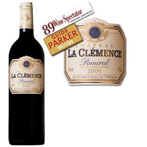 VIN ROUGE Château La Clémence 2006 - Vin rouge