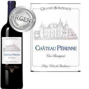 VIN ROUGE Ch. Pérenne AOC 1ères Côtes de Blaye Rouge 2010