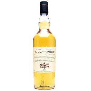 WHISKY BOURBON SCOTCH Mannochmore 12 ans Flora & Fauna 70cl