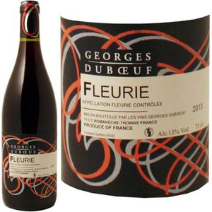 VIN ROUGE Georges Duboeuf Fleurie 2013 vin rouge