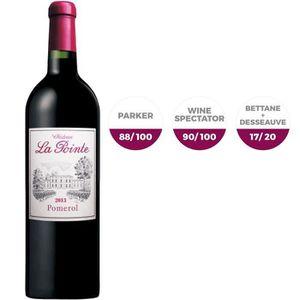 VIN ROUGE Château La Pointe 2013 Pomerol - Vin rouge de Bord