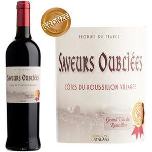VIN ROUGE Saveurs Oubliées 2013 Côtes du Roussillon Villages