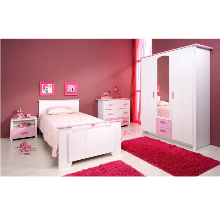 Elegance Chambre Compl Te Adulte Avec Commode Achat