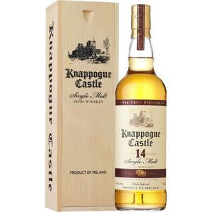 WHISKY BOURBON SCOTCH Knappogue 14 ans 46° 70cl