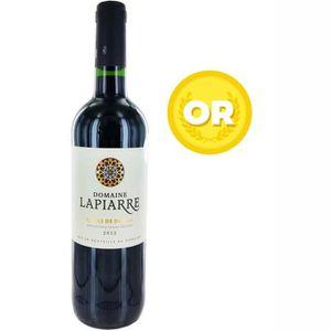VIN ROUGE Domaine de Lapiarre 2012 Côtes de Duras - Vin roug