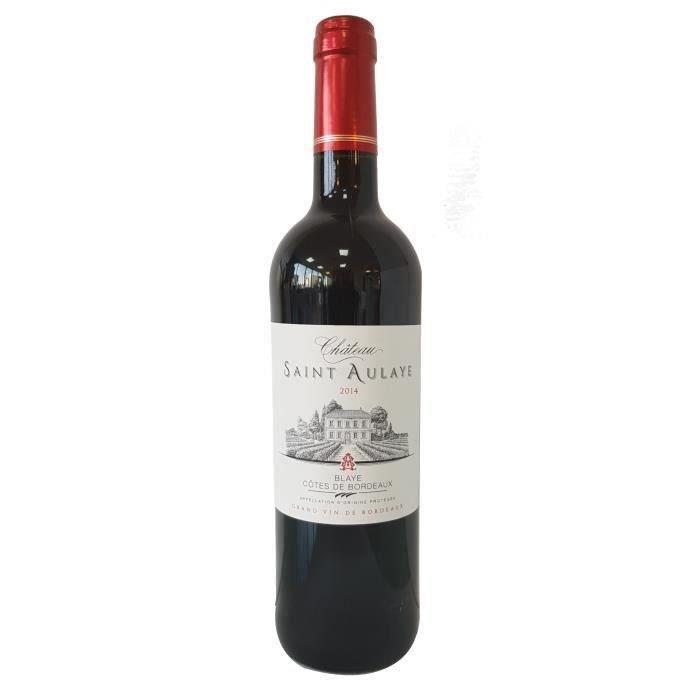 VIN ROUGE Château Saint Aulaye 2014 Côtes de Bordeaux - Vin