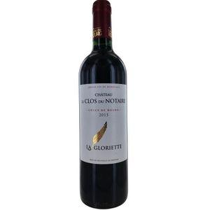 VIN ROUGE Château Clos du Notaire 2015 Côtes de Bourg - Vin
