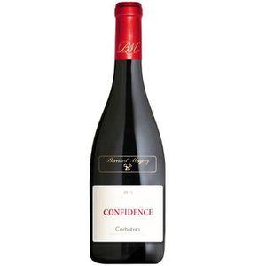 VIN ROUGE Bernard Magrez Confidence 2015 Corbières - Vin rou