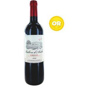 VIN ROUGE Vallon d'Arche 2015 Bordeaux - Vin Rouge de Bordea