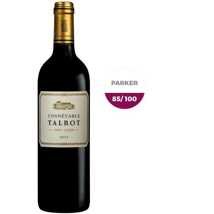 VIN ROUGE Connetable de Talbot 2015 Saint Julien - Vin rouge