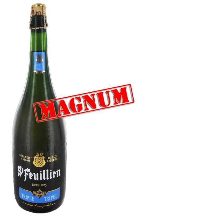 BIÈRE Saint-Feuillien triple Magnum 150cl 8.5°
