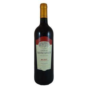 VIN ROUGE Château Moncassin 2016  Buzet - Vin rouge du Sud-O