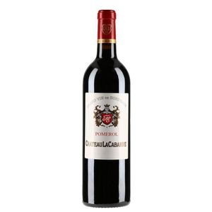VIN ROUGE Château LA CABANNE 2016  Pomerol - Vin Rouge du Bo