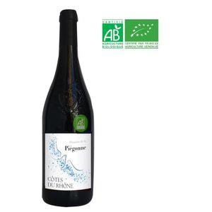 VIN ROUGE Domaine de Piégonne 2016 Côtes du Rhône - Vin roug