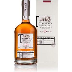 WHISKY BOURBON SCOTCH Whisky écossais Tormore - 16 ans d'âge - 70 cl - 4