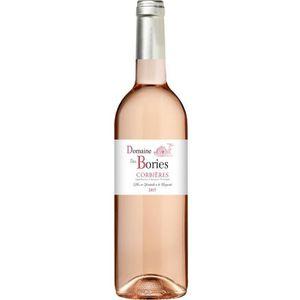 VIN ROSÉ Domaine des Bories 2017 Corbières - Vin rosé du La
