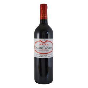 VIN ROUGE Héritage de Chasse-Spleen 2017 Haut-Médoc - Vin ro