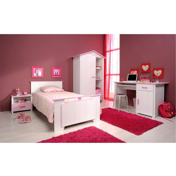 elegance chambre compl te adulte avec bureau achat vente chambre compl te elegance chambre. Black Bedroom Furniture Sets. Home Design Ideas