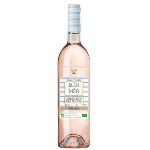VIN ROSÉ Bleu De Mer Rose Bio 2018 Vin De Pays D'oc - Vin R