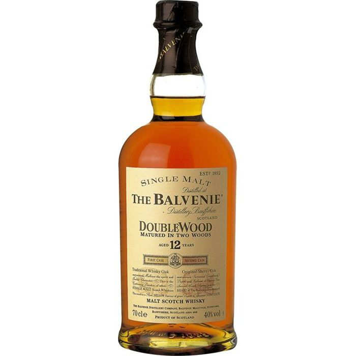 WHISKY BOURBON SCOTCH The Balvenie 12 ans DoubleWood