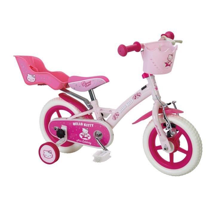 le sport velos tandem tricycle monocycle remorque casque hello kitty velo  ans enfant f hkite
