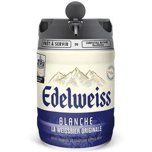 BIÈRE Edelweiss - Bière blanche aromatisée aux herbes de
