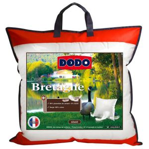 DODO Oreiller Plumettes BRETAGNE 60x60cm